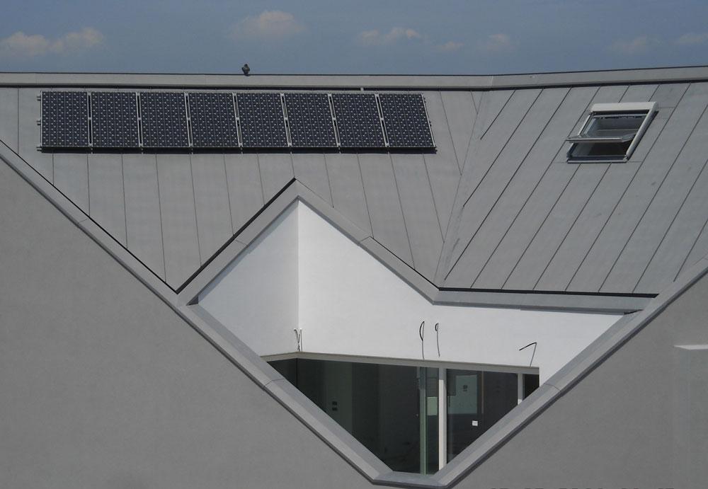 Condominio copertura zinco titanio Jesolo